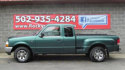 2000 Ford Ranger XL (Green,Dark)