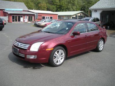 2007 Ford Fusion V6 SEL (Maroon)