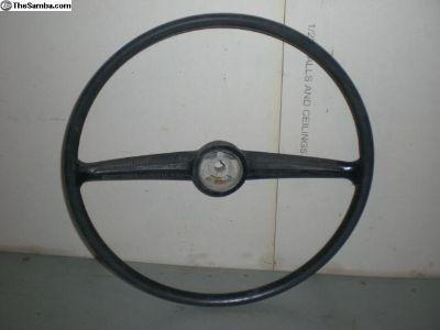 Black Steerig Wheel