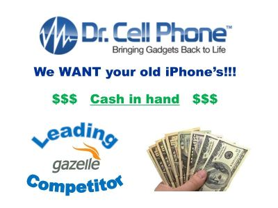 Dr. Cell Phone in Ft.Worth will buy your iPhone today!