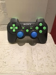 Custom designed by Scuf Gaming, PS3 controller, no cord. EUC