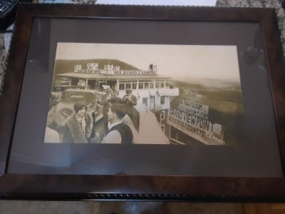 Framed Photo The Grandview Ship Hotel