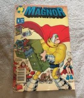 The Mighty Magnor Comic Book