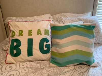 Super cute pillows PB Teen
