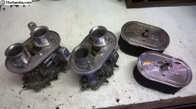 FS: Pair of Dellorto DRLA 36 carbs w/Air Filters