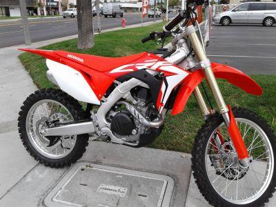 2018 Honda CRF450R Motocross Motorcycles Orange, CA