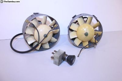Original 68-79 Bay Bus Ambulance Fans