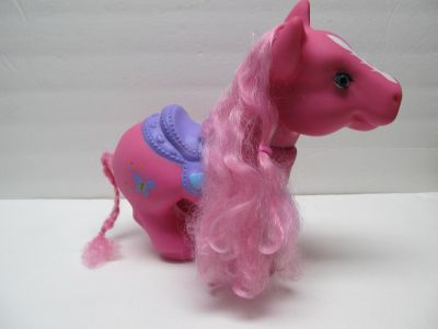 Large Pink Pony $1