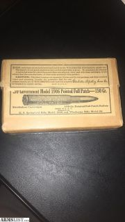 Want To Buy: I buy, sell, and trade vintage and obsolete ammo