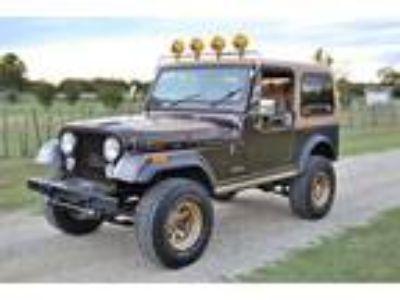 1985 Jeep CJ7 Automatic 4.2L