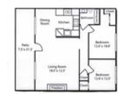 Cherry Blossom Apartments - 2BD, One BA