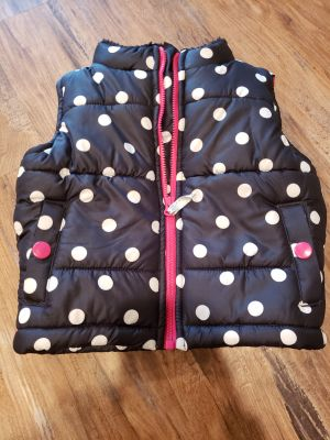 Carters 12m like new puffer vest