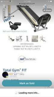 total gym fit brand new
