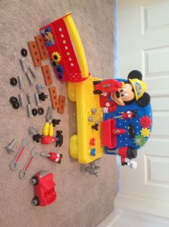 Mickey Mouse Clubhouse tool box and workbench with sounds