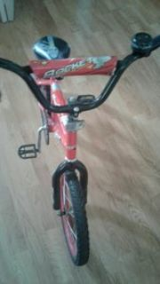 """Red 16"""" Kids Bicycle"""