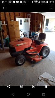 Scott's Riding Lawnmower by John Deere