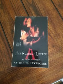 The Scarlet Letter by Nathaniel Hawthorne in pb.
