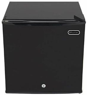 Freezer Whynter1.1 Cubic Feet Upright Freezer with Lock, Black
