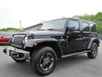 2016 Jeep Wrangler Unlimited 4WD 4dr Sahara 75th anniversar (Black Clearcoat)