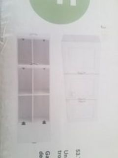Laundry Wall Cabinet Brand New w/ Defect