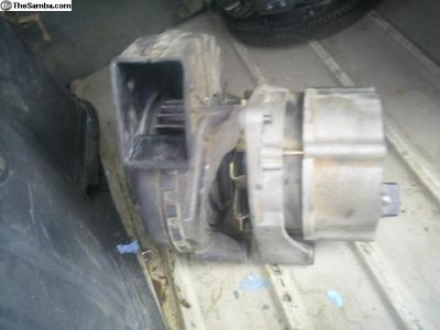 2.0 Vanagon alternator with air intake