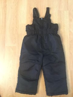 Black Snow Pants in Perfect Condition for Boy or Girl