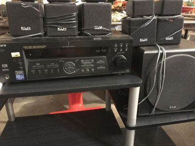 Sony receiver/stereo systems
