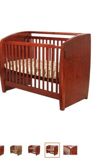 Dream On Me Electronic Wonder 3 in 1 Convertible Crib, Cherry
