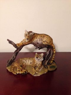"""Tigers Figurine. 5"""" tall 8"""" long. Pick up at Target in McCalla on Thursdays 5:15 to 6:00pm."""