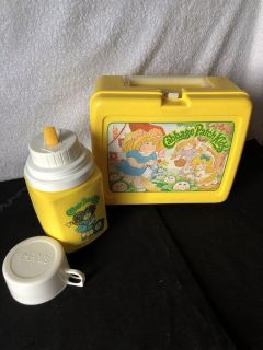 Cabbage Patch Lunchbox/Thermos 1983