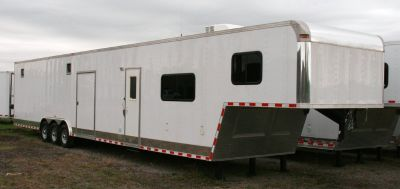 2019 Vintage 48' Outlaw Living Quarters Trailer