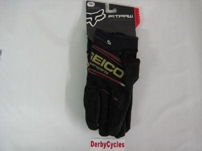 Find Fox Geico Pitpaw Gloves Black Size 10 L 03225-001 L 10 motorcycle in Shelbyville, Kentucky, US, for US $12.99