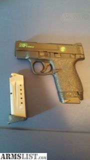 For Sale: Shield m&p 9mm modded