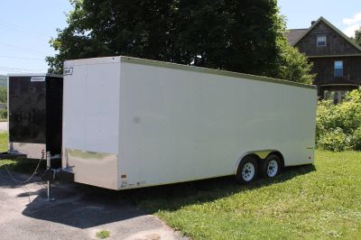 2018 Haulmark Transport V-Nose Auto-Deluxe (TSTV85X20WT2) Car Haulers Trailers Adams, MA