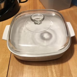 Never used Vintage Corning Ware Microwave Browning Dish