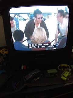 TV,W/Vcr,,Still works,w/Remote ,Cable Ready!!