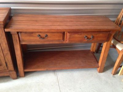 Side table or buffet.