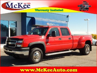 2006 Chevrolet Silverado 3500 Work Truck (Victory Red)