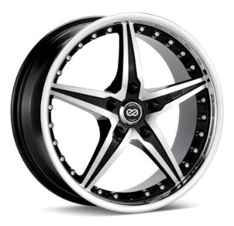 Purchase Enkei L-SR, 18 x 8, 5x120, 40mm Offset, Black Machined (1) Wheel/Rim motorcycle in Roanoke, Texas, US, for US $191.90