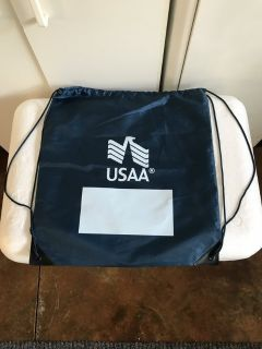 USAA Blue Backpack Bag