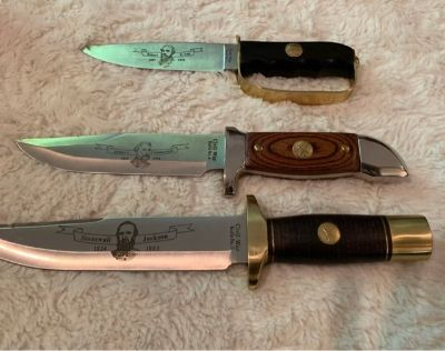 Civil War Bowie Knives Collection