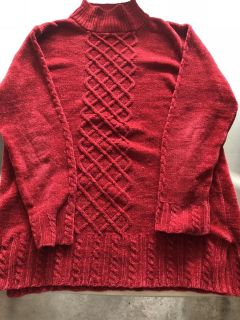 Long Sleeve Red Sweater