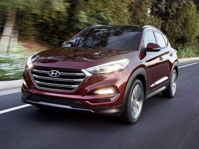 2018 Hyundai Tucson Limited (GEMSTONE RED)