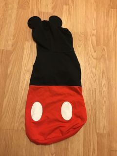 Size M Mickey Mouse dog hoodie