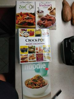 Crock pot and other cookbooks