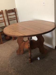 All Wooden Solid Dining Table