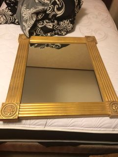27 x31 wall mirror. Pick up at McCalla Target on Thursday s from 5:15 till 6. Cp.