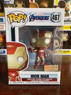 Avengers Endgame Iron Man Boxlunch Exclusive Funko Pop