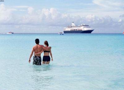 Free airfare for two adults including accommodations and complementary cruise