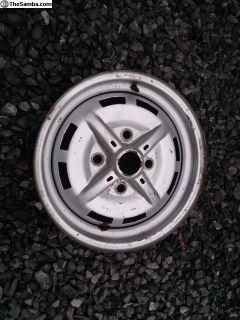 O.G German 5.5 Wide 914 Steel Wheel